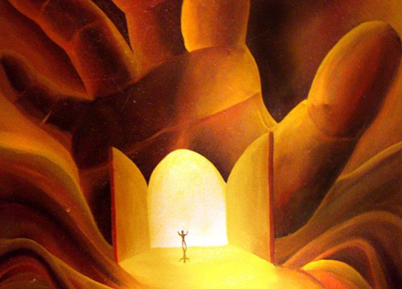 Heaven Standing Open